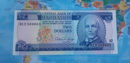 BARBADOS 2 DOLLARS 1993 P42 UNC - Barbados
