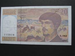 20 Vingt Francs - DEBUSSY - 1997  Alphabet  N.062   **** EN ACHAT IMMÉDIAT  **** - 1962-1997 ''Francs''