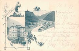 Gruß Aus Süs Susch Gemeinde Zernez, Kreis Sur Tasna Kanton Graubünden 1899 - GR Graubünden