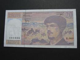 20 Vingt Francs - DEBUSSY - 1997  Alphabet  K.060   **** EN ACHAT IMMÉDIAT  **** - 1962-1997 ''Francs''