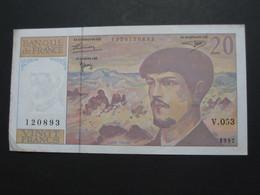 20 Vingt Francs - DEBUSSY - 1997  Alphabet  V.053   **** EN ACHAT IMMÉDIAT  **** - 1962-1997 ''Francs''