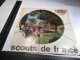 Calendrier Scouts De France 1968 Louveteaux Afrique Madagascar - Calendari