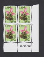 France - Bloc De 4 Préo N° 245 - Coin Daté Du 30/01/2002 - Neuf** - 1989-....