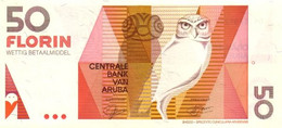 ARUBA P. 13 50 F 1993 UNC - Aruba (1986-...)