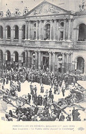 EVENEMENT Event - PARIS (01/06/1914) Funérailles Du Général GALIENI Le Public Défile Devant La Catafalque Aux INVALIDES - Begrafenis