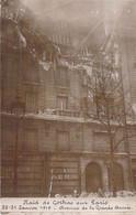 EVENEMENT Event ( Militaria Catastrophe ) PARIS 30/07/1918 RAID Des GOTHAS (Bombardiers Allemands) Av. Grande Armée CPA - Rampen