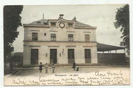 Montgeron  (91 - Essonne) La Gare - Montgeron