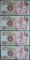 4 BILLETS  BANK OF GHANA - TEN CEDIS  1978  ( NEUF ) - Ghana