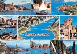Italy Lago Di Garda, Gardone, S. Vigilio, Desenzano, Salo, Riva Gardesana - Other