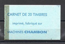 CARNET MACHINES CHAMBON - AVEC CROIX DE REPÈRE - Ensayos