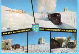 Puchberg Am Schneeberg (Osterreich-Autriche)-Hotel Hochschnneeberg-Zahnradbahn-Schneebergbahn-Station Baumgartner-Kirche - Schneeberggebiet
