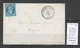 France  - GC 2138 + Type 22 - LUTTERBACH - Haut Rhin - 1863 - 1849-1876: Klassieke Periode