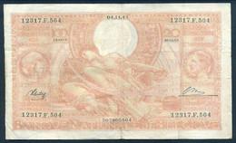 * BILLET*100 FRANCS*20 BELGAS*04.11.1944*FRANCAIS -NEERLANDAIS*TYPE 1933* LOT 502 - 100 Franchi-20 Belgas