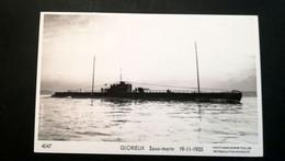 """SOUS-MARIN   """"GLORIEUX  """" Phot Marius Bar Toulon - Submarinos"""