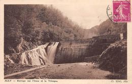 ALLY - Barrage Sur L'Auze Et La Trizague - Très Bon état - Autres Communes