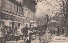 38 FONTAINE   Env. De GRENOBLE     Restaurant Ponson    SUP PLAN 1915.  RARE - Sonstige Gemeinden