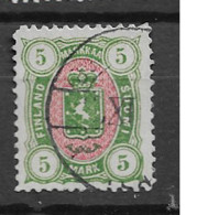 1885 USED Finland Mi 25 - Used Stamps