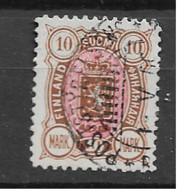 1889 USED Finland Mi 34 - Used Stamps