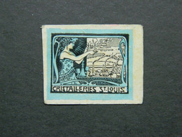 Vignette Entreprise Cristalleries De Saint-Louis Moselle - Vignetten (Erinnophilie)