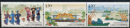 China 2008, Michel 4013-4015, The 50th Anniversary Of The Guangxi Zhuang Autonomouse Region, Strip Of 3v, MNH - 1949 - ... Volksrepublik