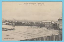 J.P.S. 12 - C.P. 35 - Inondations De 1910 - 4 - Cultures Maraichères Rue De La Vacherie - Pro. Marquot - Troyes
