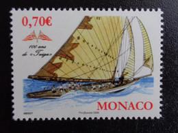 MONACO 2009 Y&T N° 2696 ** - 100 ANS DE FUIGA - Unused Stamps