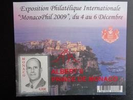 MONACO 2009 Y&T BLOC N° 94 ** - MONACOPHIL 2009 DU 4 AU 6 DECEMBRE - Unused Stamps