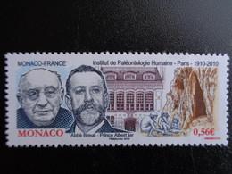 MONACO 2010 Y&T N° 2743  ** - INSTITUT DE PALEONTHOLOGIE HUMAINE - Nuovi