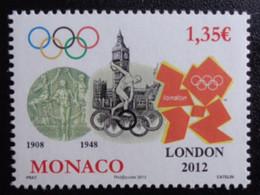 MONACO 2012 Y&T N° 2836 ** - LONDON 2012 - Ongebruikt