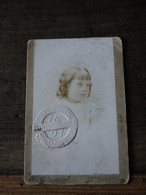 1894 Wereldtentoonstelling Antwerpen  Abonnementskaart Kind  Zeldzaam Met Foto - Eintrittskarten