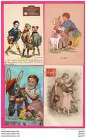 (Réf : VV650)  LOT DE 52 TRÈS BELLES CPA FANTAISIE   8 Eur - 5 - 99 Postkaarten