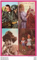 (Réf : VV652) LOT DE 52 TRÈS BELLES CPA FANTAISIES PRIX CHOC 8eur - 5 - 99 Postkaarten