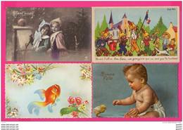 (Réf : VV653) LOT DE 52 TRÈS BELLES CPA FANTAISIES PRIX CHOC 8 Eur - 5 - 99 Postkaarten