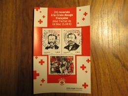 2020 Bloc Croix Rouge Oblitéré Premier Jour Cachet Rond 02/10/2020 - Used Stamps