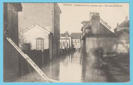 J.P.S. 12 - C.P. 57 - Inondations Du 21 Janvier 1910 - Rue Des Guillemets - Troyes