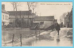 J.P.S. 12 - C.P. 58 - Inondations Du 21 Janvier 1910 - Rue De L'Isle - Troyes