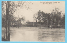 J.P.S. 12 - C.P. 61 - Inondations Du 21 Janvier 1910 - Charmilles - Rue De Gournay - Troyes