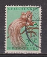 Nederlands Nieuw Guinea 29 Used ; Paradise Bird 1954 ; NOW ALL STAMPS OF NETHERLANDS NEW GUINEA - Nederlands Nieuw-Guinea