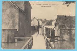 J.P.S. 12 - C.P. 64 - Inondations Du 21 Janvier 1910 - N° 14 - Rue Des Guillemets - Troyes