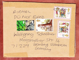 Grossbrief, Otter U.a., Nach Leonberg 2015? (97942) - 1952-.... (Elizabeth II)