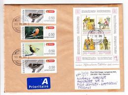 Grossbrief, Block Hafnia U.a., Tilst Nach Leonberg 2014 (97944) - Cartas