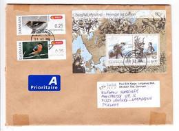 Grossbrief, Block Mythologie U.a., Tilst Nach Leonberg 2014 (97945) - Cartas