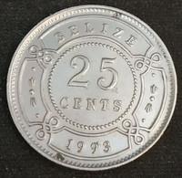BELIZE - 25 CENTS 1993 - Elizabeth II - 1er Effigie - KM 117 - Belize
