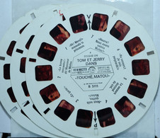 VIEW MASTER   TOM ET JERRY    B 5111-2-3    ( 3 DISQUES ) - Unclassified
