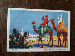L31/125 PUBLICITE ST RAPHAEL QUINQUINA . ALGERIE - Publicidad