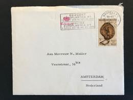 """Brief 1961 OBP 1175 Chateau Belvedere - Amsterdam - Met Inhoud """"Verjaardag Koning Filip"""" - Belgium"""