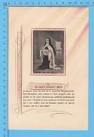 Grande Image Pieuse - Le Saint Enfant Jesus Et La Venerable Marguerite-du-Saint-Sacrement - Imágenes Religiosas