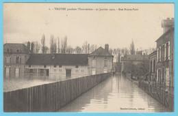J.P.S. 12 - C.P. 80 - Inondations Du 21 Janvier 1910 - Diverses Vues - Lot Indivisible De 23 Cartes - Troyes