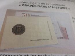 Précommande Livret 50 Ans Imprimerie Gravés Dans L'histoire - Bloques Souvenir