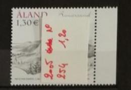 Aland 2005 / Yvert N°254 / ** - Ålandinseln